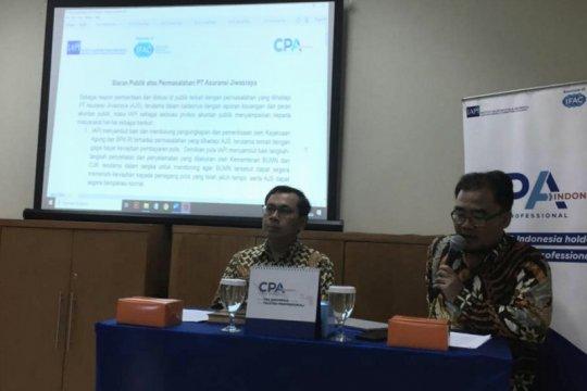 IAPI: Akuntan publik tak terlibat rekayasa laporan keuangan Jiwasraya