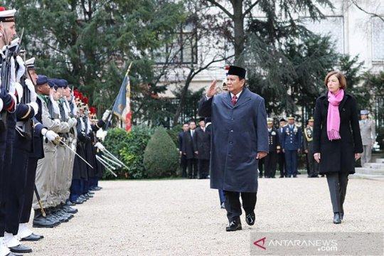 Kunjungi Prancis, Prabowo perkuat kerja sama pertahanan dan alutsista