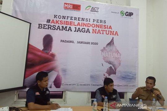 ACT Sumbar harapkan pemerintah dan masyarakat setempat peduli Natuna