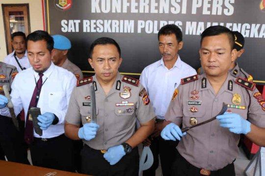 Polres Majalengka bekuk tiga anggota geng motor