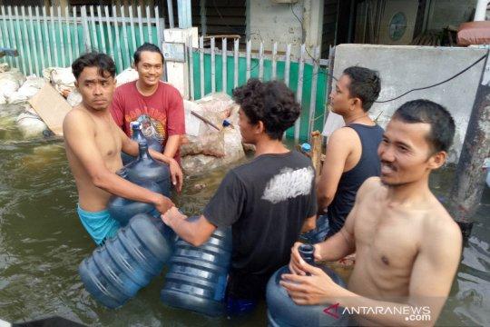 Pemkot Jakut prioritaskan penanganan banjir di Kawasan Teluk Gong