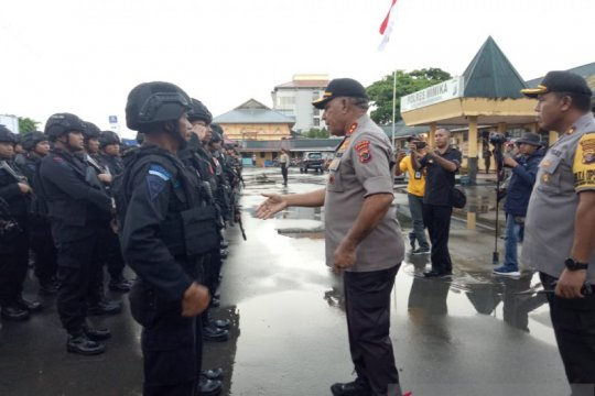 Polda lengkapi personel lima Polres pedalaman Papua