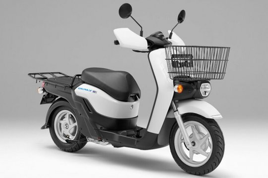 Skuter listrik Honda Benly segera dipasarkan, harganya?