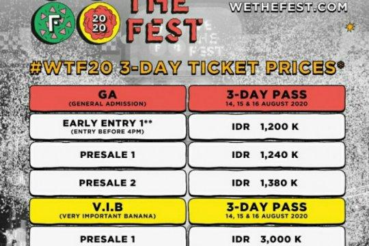 We The Fest 2020 mulai jual tiket terusan