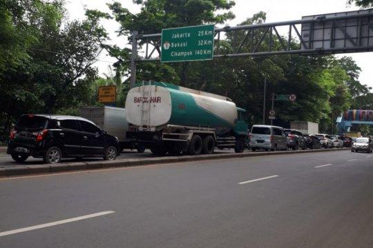 "Jalan Daan Mogot macet, dishub terapkan ""one way"""