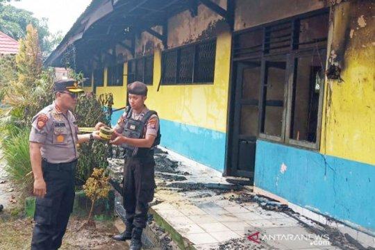 Polisi selidiki penyebab terbakarnya SDN 2 Panarung Palangka Raya