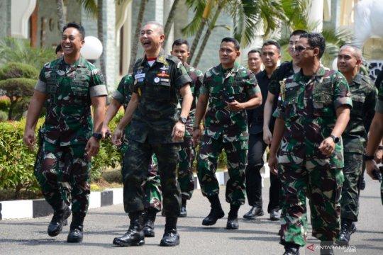 Kerja sama TNI AD dengan Angkatan Darat Thailand