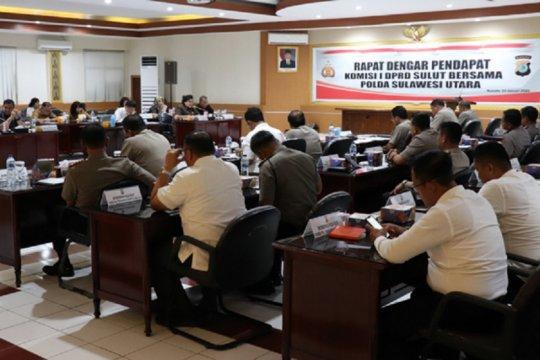 Polda dan DPRD Sulut RDP bahas pengamanan pilkada
