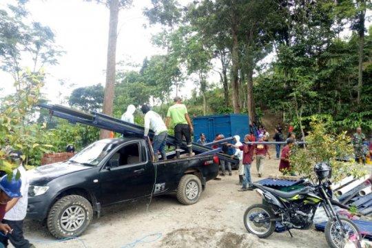 TNI-Gudang Garam revitalisasi sarana air bersih di Puncu-Kediri