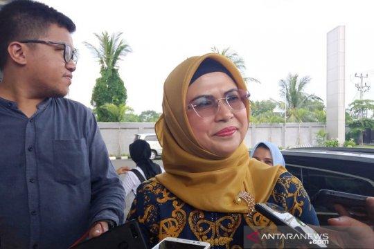 Putri Ma'ruf Amin datangi DPD Gerindra Banten