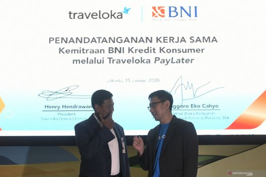 Traveloka gandeng BNI perluas akses PayLater