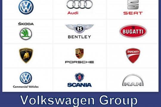 Pengiriman kendaraan Volkswagen Group naik 1,3 persen pada 2019