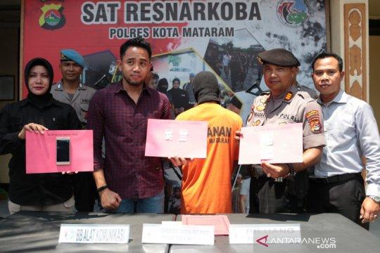 Polresta Mataram ungkap kasus kepemilikan sabu-sabu