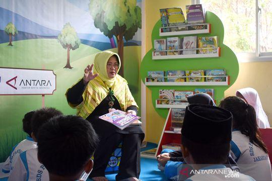 Pojok Baca ANTARA di SDS Pantai Indah Cilincing