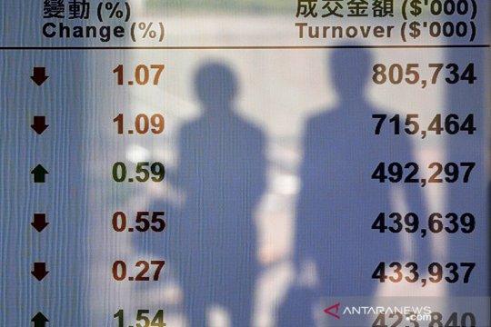 Saham Hong Kong ditutup menguat, indeks HSI bertambah 0,28 persen