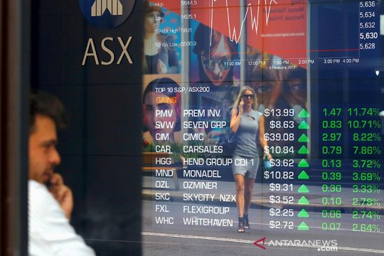 Pasar saham Australia dibuka menguat dengan keuntungan meluas