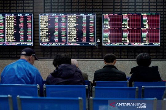 Saham China ditutup lebih tinggi, Indeks Shanghai naik 0,84 persen