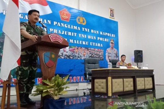 Panglima ingatkan prajurit di Morotai antisipasi bencana alam 2020