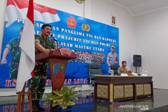 Tinjau Morotai, Panglima-Kapolri tekankan sinergitas antarprajurit