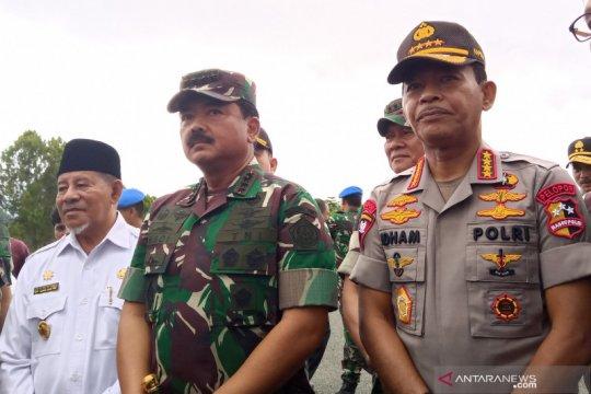 Panglima-Kapolri minta prajurit di Morotai jaga netralitas Pilkada
