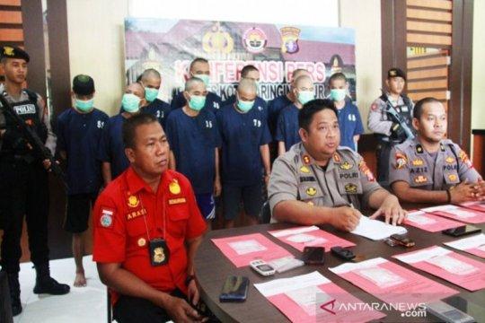 Polres Kotim tangkap 13 pengedar narkoba