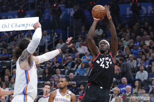 NBA: Raptors kalahkan  Oklahoma City Thunder 130-121