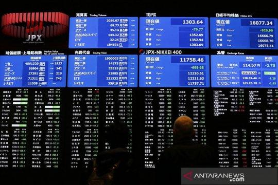 Saham Tokyo ditutup turun karena kenaikan yen dorong aksi ambil untung