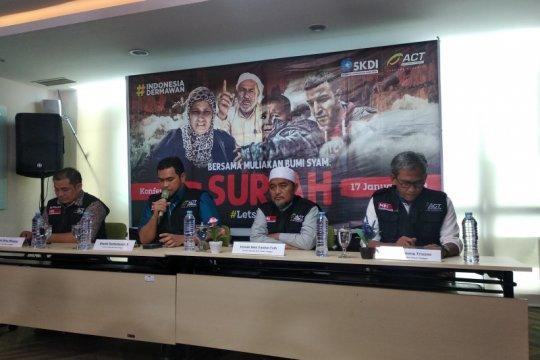 ACT ajak masyarakat Indonesia ringankan derita pengungsi Suriah