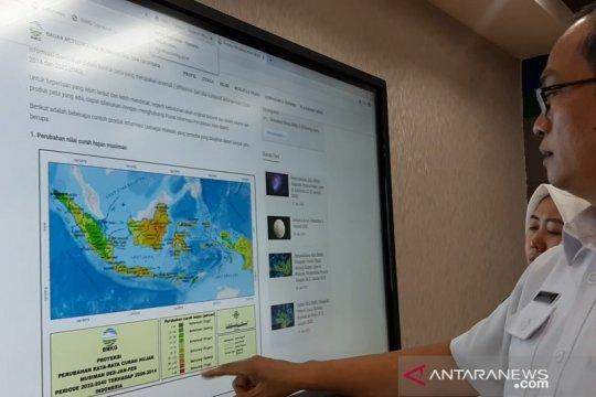Skenario BMKG prediksikan kenaikan curah hujan ekstrem pada 2032-2040