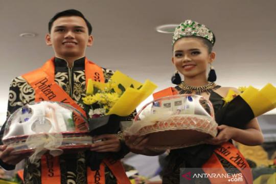Juara Putra-Putri Kampus Nasional 2020 disabet mahasiswa UHO Kendari