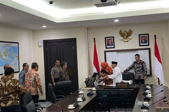 Khofifah minta dukungan Wapres bangun Indonesia Islamic Science Park