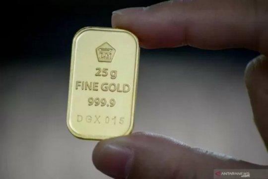 Harga emas Antam terus merosot, amblas hingga Rp8.000/gram
