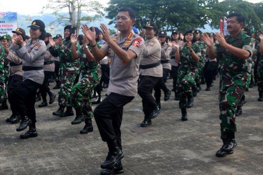 Kunjungan Kapolri dan Panglima TNI ke Maluku