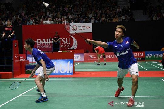Minions mantap melangkah ke semifinal Indonesia Masters 2020