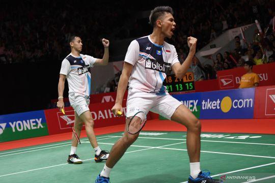 Fajar/Rian melaju ke semifinal Indonesia Masters