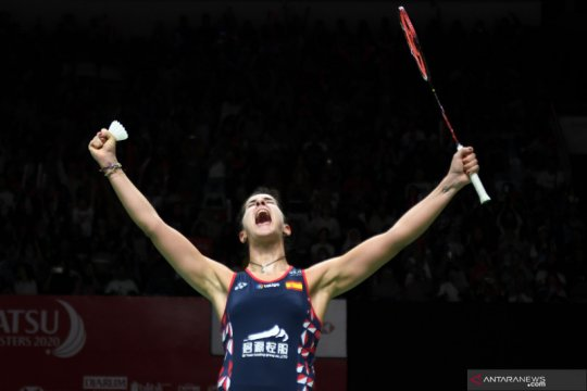 Carolina Marin melaju ke Final