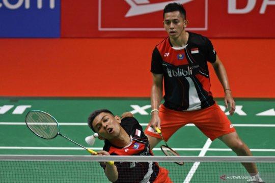 Fajar/Rian terhenti di perempat final dikalahkan ganda putra Malaysia
