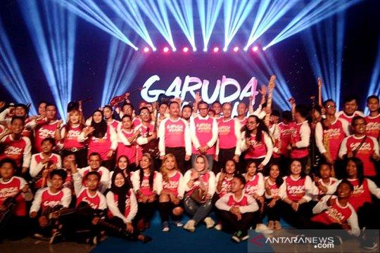 """2.000 lampion meriahkan Grand launching """"Garuda di Lautku"""""""