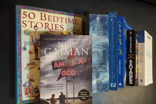 When it is raining: Create a weekend book club