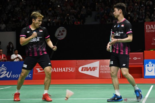 Ringkasan Indonesia Masters, Indonesia loloskan empat wakil ke final