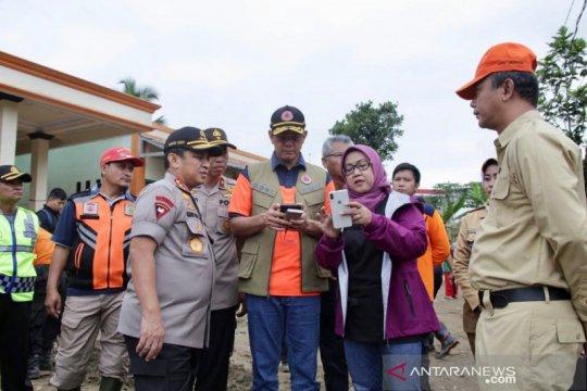 Kepala BNPB sebut longsor di Sukajaya Bogor ibarat es krim meleleh