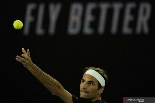 Federer incar Olimpiade seiring keadaan lutut yang membaik