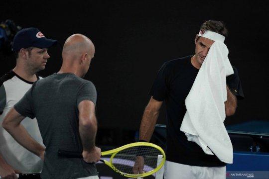 Federer tidak berniat pensiun cuma karena cedera