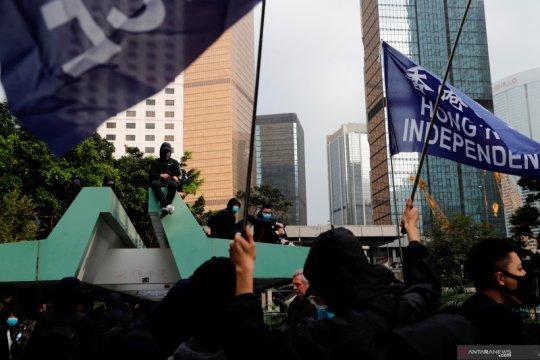 Polisi tahan penyelenggara protes Hong Kong