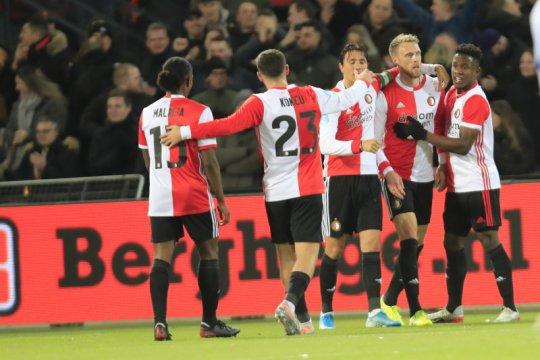 Feyenoord lumat Heerenveen 3-1 di kandang