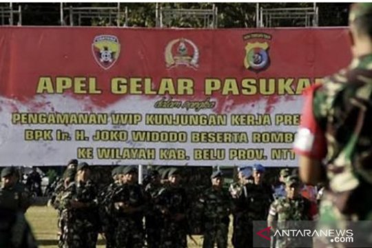 Ratusan personel disiapkan amankan kedatangan Jokowi di Labuan Bajo
