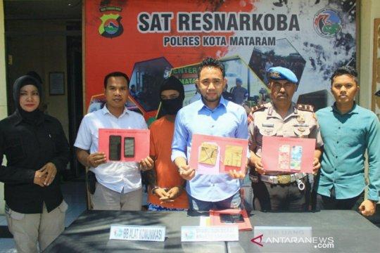 Polresta Mataram tangkap pengedar sabu di jalan