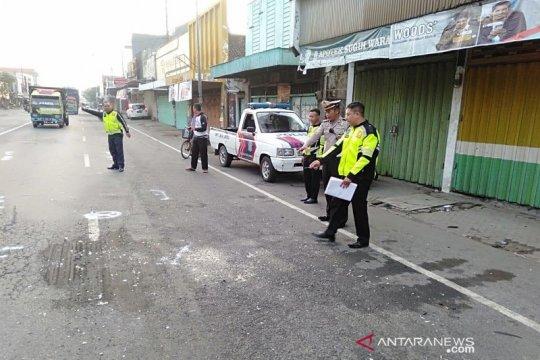 Polisi tangani kecelakaan di Jombang akibatkan tiga orang meninggal