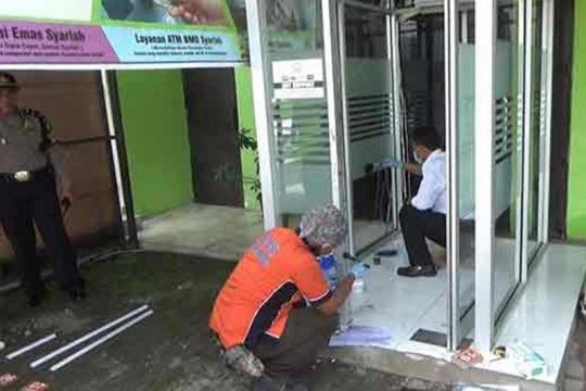 Polisi buru pelaku pembobolan mesin ATM d Madiun