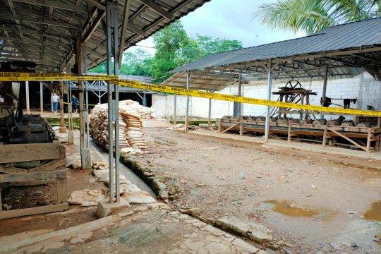 Polda Banten periksa saksi, amankan barang bukti penambangan ilegal
